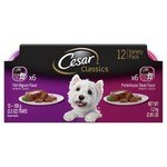 Classic Filet Mignon and Porterhouse Steak Flavor Wet Dog Food Variety Packs