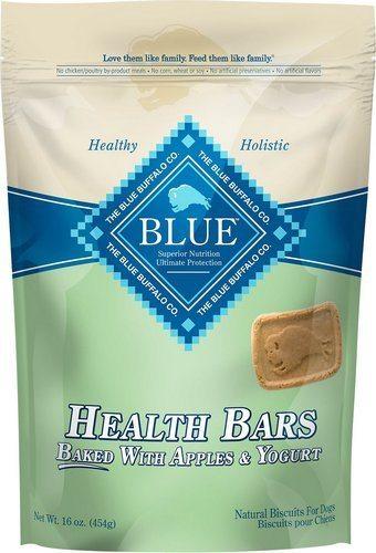 Blue Buffalo Health Bars Baked with Apples & Yogurt Dog Treats