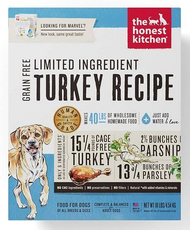 The Honest Kitchen Human-Grade Dehydrated Organic Grain Dog Food