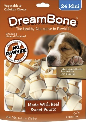 Sweet Potato Classic Mini Bone Chews