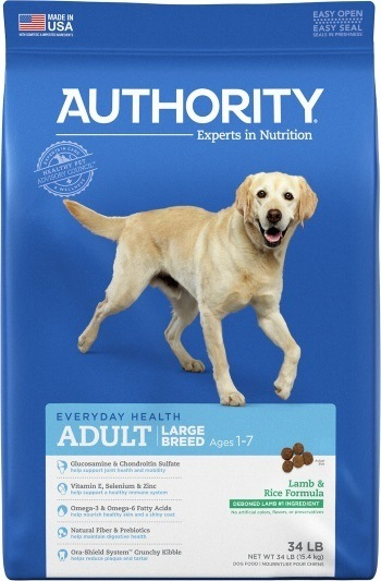 Authority Lamb & Rice Formula Large Breed Adult Dry Dog Food