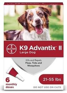 K9 Advantix II Flea & Tick Treatment for Dogs