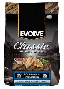 Best Dog Food for Money - Evolve Classic Deboned Chicken & Brown Rice