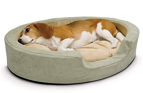 k and h thermo snuggly sleeper dog bed