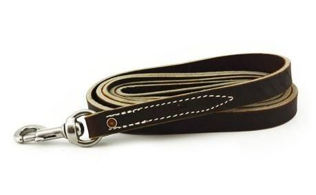 Leerburg's Latigo Leather Dog Leash