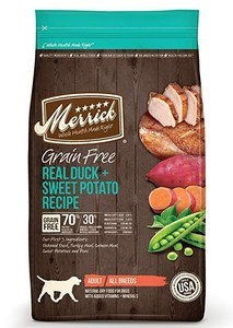 Merrick Grain Free Duck & Potato