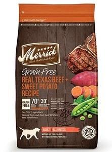 Merrick Grain Free Texas Beef