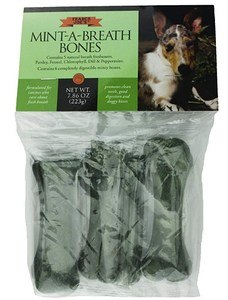 Mint-A-Breath Minty Bones for Dogs