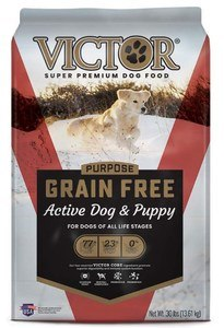 victor purpose active dog and puppy