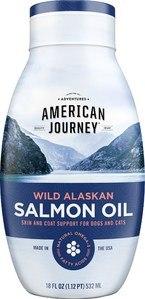 American Journey Wild Alaskan Salmon Oil Liquid Dog & Cat Supplement