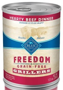 Blue Buffalo Freedom Grillers Hearty Beef Dinner
