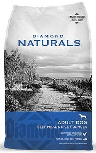 Diamond Naturals Beef Meal & Rice Food