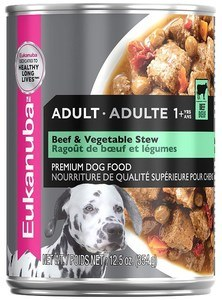 Adult Beef & Vegetable Stew Canned Dog Food