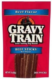 Gravy Train Beef Sticks