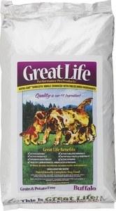 Great Life Grain Free Buffalo Recipe