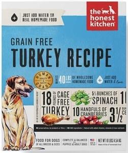 Honest Kitchen Grain Free Turkey Recipe