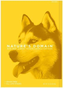 Nature's Domain Beef Meal & Sweet Potato Formula for Dogs