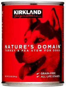 Nature's Domain Kirkland Turkey and Pea Stew