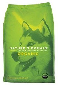 Nature's Domain Organic Chicken & Pea Formula for Dogs