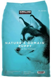 Nature's Domain Puppy Formula Chicken & Pea Dog Food