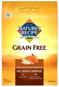 Grain-Free Chicken, Sweet Potato & Pumpkin Recipe