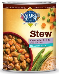 Healthy Skin Vegetarian Recipe Cuts in Gravy Stew