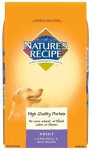 Adult Lamb Meal & Rice Recipe