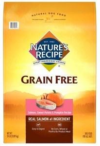 Grain-Free Salmon, Sweet Potato & Pumpkin Recipe