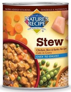 Easy-To-Digest Chicken, Rice & Barley Recipe in Gravy Stew