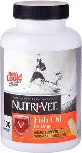 Nutri-Vet, Fish Oil Dog Softgels