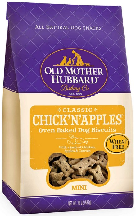 Classic Chick'N'Apples Biscuits Mini Baked Dog Treats