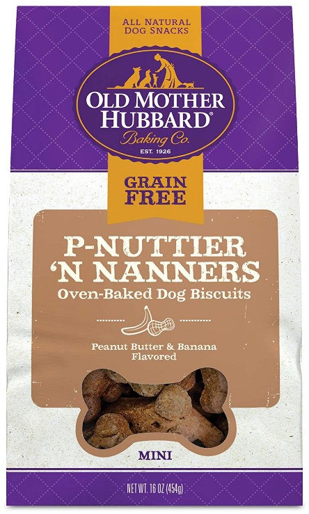 Mini P-Nuttier 'N Nanners Biscuits Baked Dog Treats