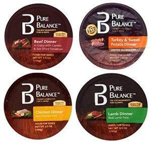 Pure Balance Grain Free Beef, Turkey, Lamb & Chicken Variety Pack