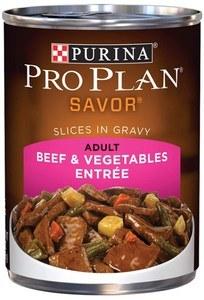 Purina Pro Plan Savor Adult Beef & Vegetables Entree Slices