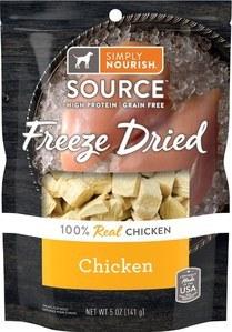 Simply Nourish Freeze Dried Chicken Dog Treat