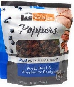 Simply Nourish Poppers Dog Treats
