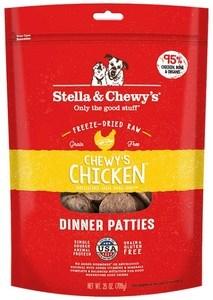 Stella & Chewys Chicken Dinner Patties Freeze-Dried