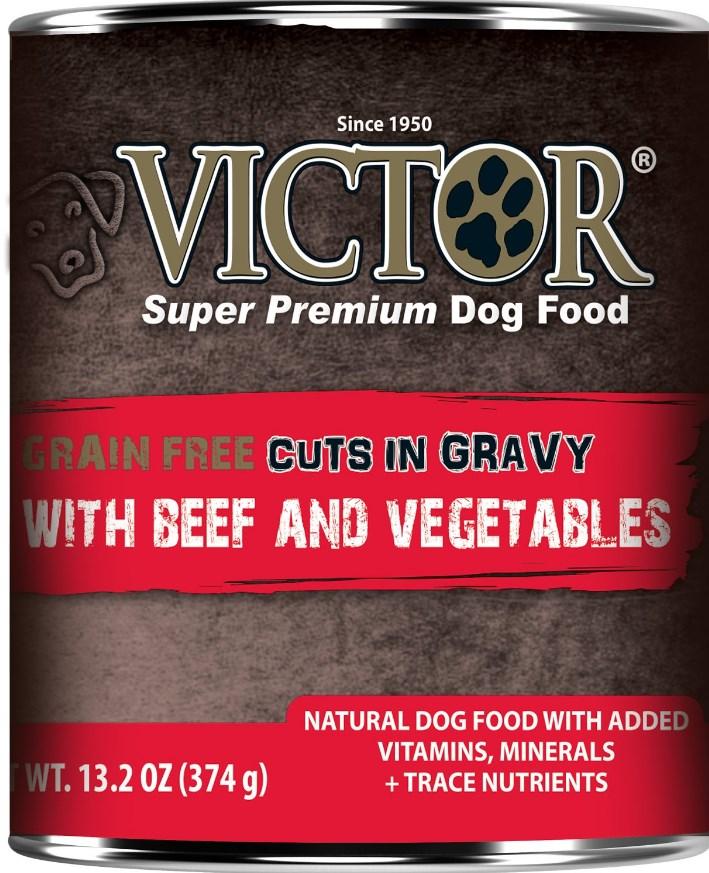 Victor Grain-Free Beef & Vegetables Entree Dog Food