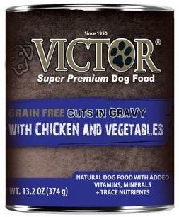 Victor Grain-Free Chicken & Vegetables Entree Dog Food