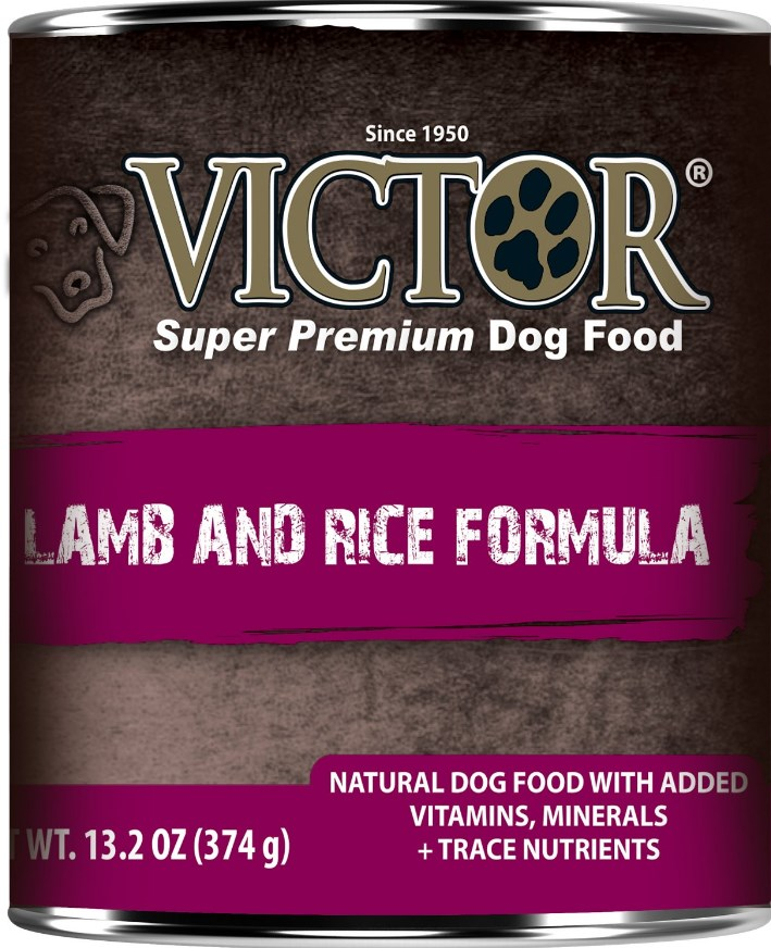 Victor Lamb & Rice Formula Canned Dog Food