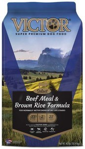 Victor Select Beef Meal & Brown Rice Dry Dog Food