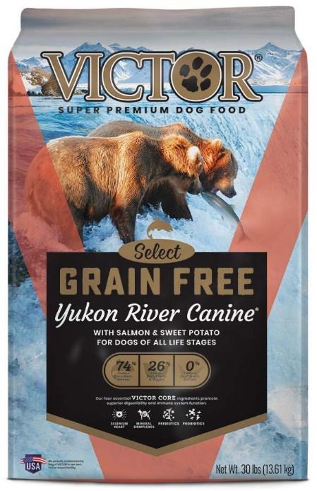 Victor Yukon River Salmon & Sweet Potato Dry Dog Food