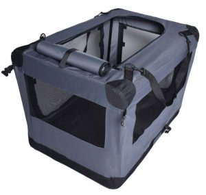 arf pets dog soft crate with a dog