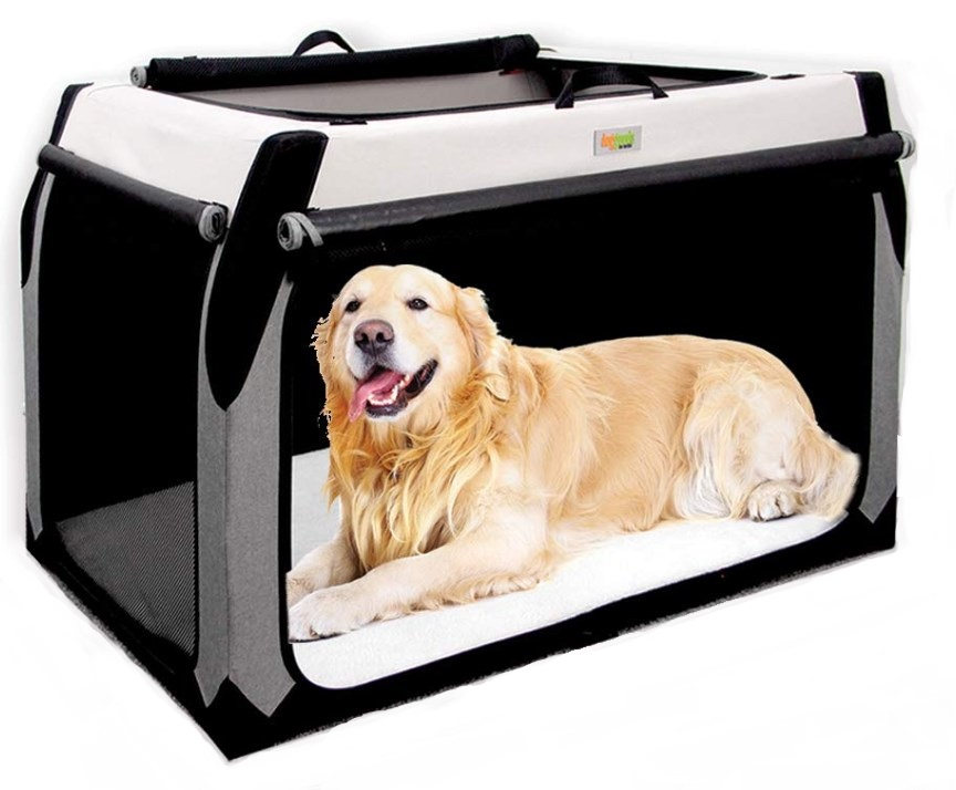 DogGoods Foldable Soft Dog Crate