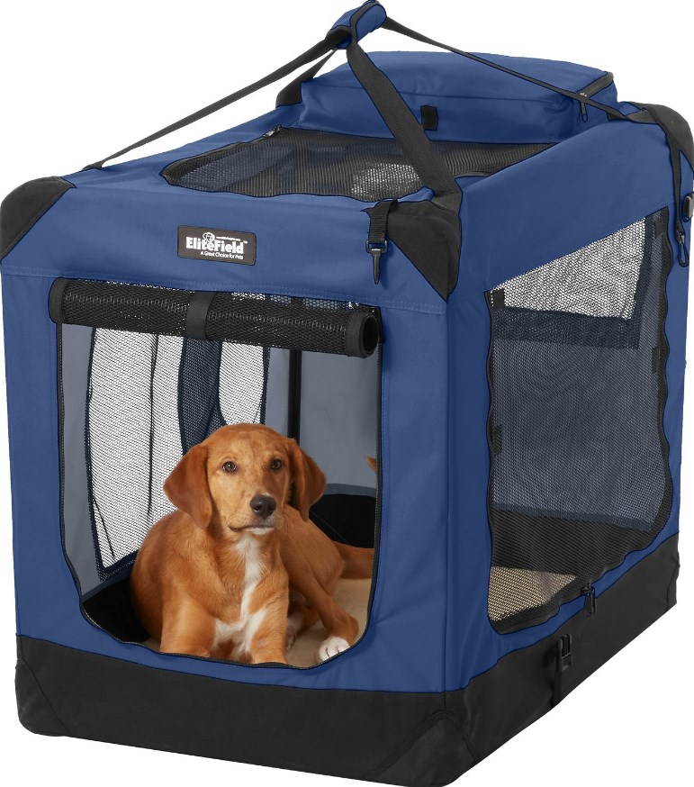 Elite Field 3-Door Soft Dog Crate