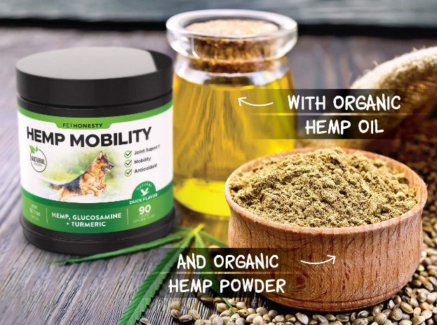 pethonesty hemp hip and joint supplement ingredients