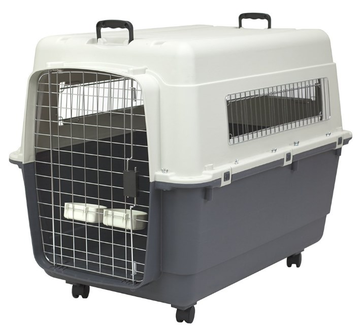 SportPet Designs Plastic Travel Dog Crate