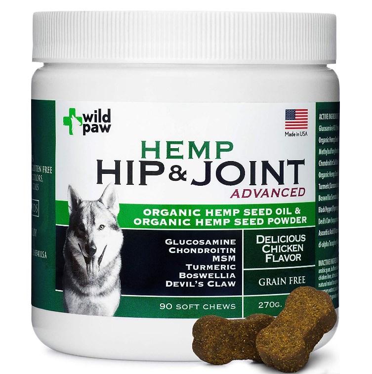 Wild Paw Organic Hemp Supplement