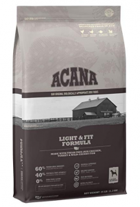 Acana Heritage Dry Dog Food, Light & Fit