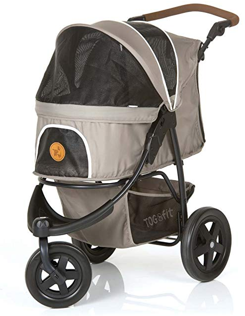 TOGfit Pet Roadster - Luxury Pet Stroller for Puppies, Senior Dogs and Cats